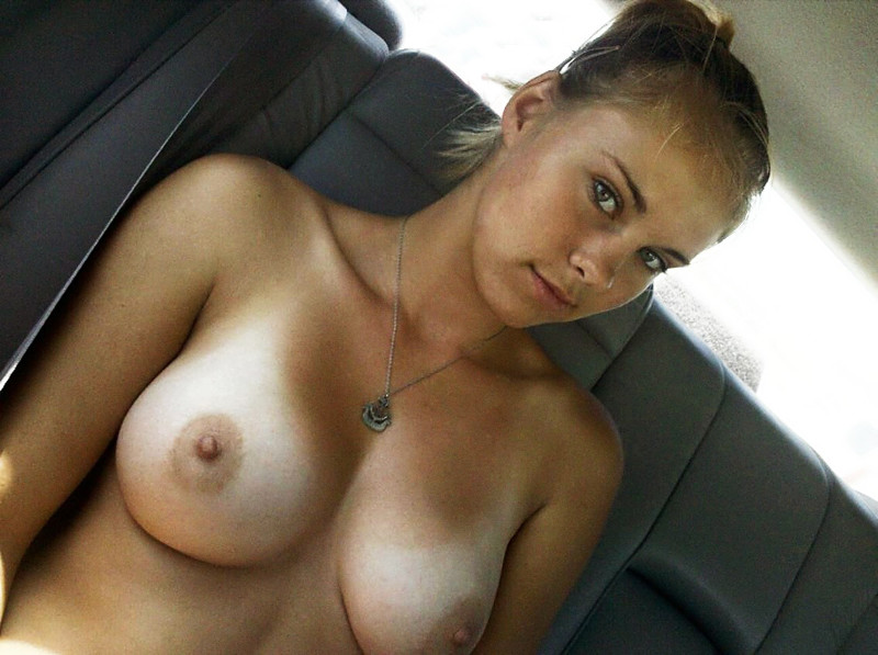 Beautiful blonde with big tits